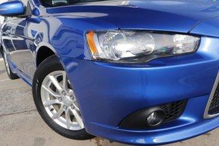 2014 Mitsubishi Lancer CJ MY15 LS Lightning Blue 6 Speed Constant Variable Sedan.