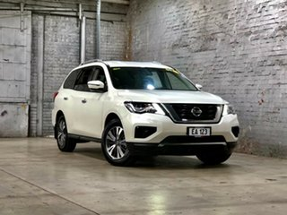 2017 Nissan Pathfinder R52 Series II MY17 ST X-tronic 4WD White 1 Speed Constant Variable Wagon.