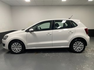 2014 Volkswagen Polo 6R MY14 Trendline DSG Candy White 7 Speed Sports Automatic Dual Clutch