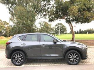 2019 Mazda CX-5 KF4WLA GT SKYACTIV-Drive i-ACTIV AWD Grey 6 Speed Sports Automatic Wagon.