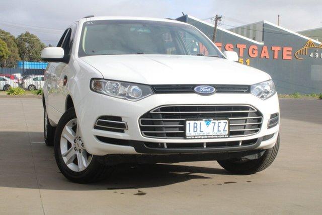 Used Ford Territory SZ TX (RWD) West Footscray, 2014 Ford Territory SZ TX (RWD) White 6 Speed Automatic Wagon
