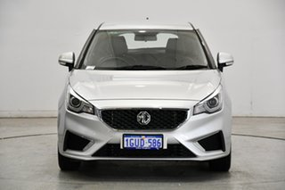 2019 MG MG3 SZP1 MY18 Excite Scottish Silver 4 Speed Automatic Hatchback.