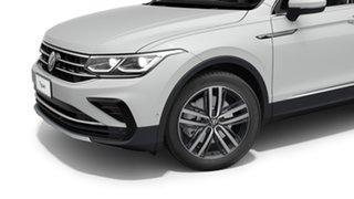 2021 Volkswagen Tiguan 5N MY21 147TDI Elegance DSG 4MOTION Pure White 7 Speed