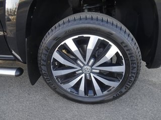 2017 Volkswagen Amarok 2H MY17 TDI550 4MOTION Perm Ultimate Deep Black Pearl Effect 8 Speed