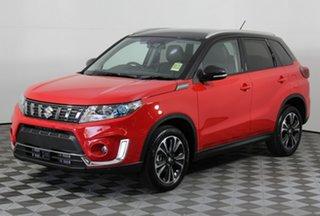 2020 Suzuki Vitara LY Series II Turbo 2WD Bright Red & Cosmic Black 6 Speed Sports Automatic Wagon.