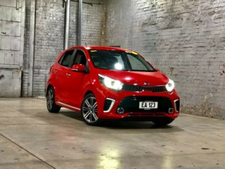 2018 Kia Picanto JA MY18 GT-Line Red 4 Speed Automatic Hatchback.