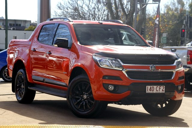 Used Holden Colorado RG MY19 Z71 Pickup Crew Cab Toowoomba, 2018 Holden Colorado RG MY19 Z71 Pickup Crew Cab Orange 6 Speed Sports Automatic Utility
