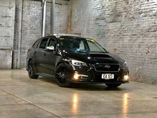 2016 Subaru Levorg V1 MY17 2.0 GT-S CVT AWD Black 8 Speed Constant Variable Wagon.