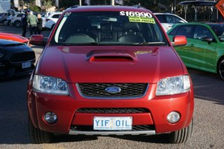 2006 Ford Territory SY Turbo AWD Ghia Red 6 Speed Sports Automatic Wagon.