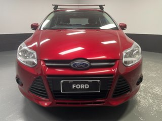 2012 Ford Focus LW Trend PwrShift Candy Red 6 Speed Sports Automatic Dual Clutch Hatchback.