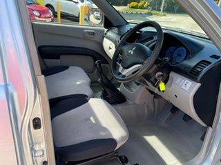 2008 Mitsubishi Triton ML MY08 GLX Silver 5 Speed Manual Cab Chassis.