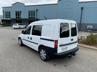 2007 Holden Combo XC MY07.5 White 5 Speed Manual Van