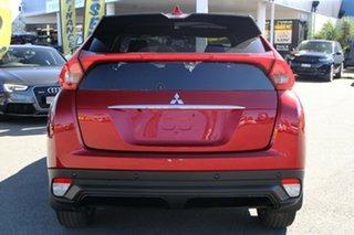 2019 Mitsubishi Eclipse Cross YA MY20 Black Edition 2WD Red Diamond 8 Speed Constant Variable Wagon