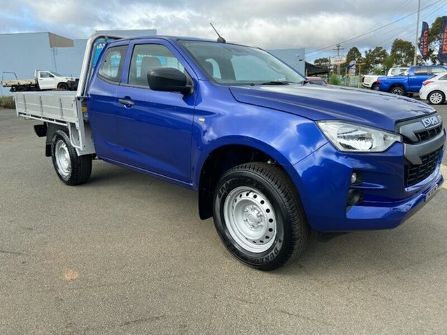 Used Isuzu D-MAX RG MY21 SX Space Cab Melton, 2021 Isuzu D-MAX RG MY21 SX Space Cab Cobalt Blue 6 Speed Sports Automatic Cab Chassis