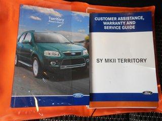 2009 Ford Territory SY MkII TS RWD Grey 4 Speed Sports Automatic Wagon