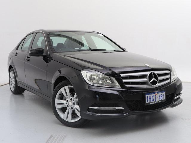 Used Mercedes-Benz C200 W204 MY11 CDI BE, 2012 Mercedes-Benz C200 W204 MY11 CDI BE Black 7 Speed Automatic G-Tronic Sedan