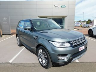 2015 Land Rover Range Rover Sport L494 15.5MY SDV6 HSE Grey 8 Speed Sports Automatic Wagon.