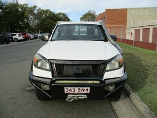 2010 Ford Ranger PK XL White 5 Speed Manual Cab Chassis.