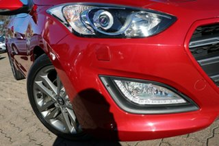 2015 Hyundai i30 GD4 Series 2 SR Red 6 Speed Automatic Hatchback.