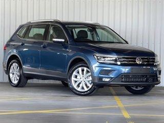 2021 Volkswagen Tiguan 5N MY21 132TSI Comfortline DSG 4MOTION Allspace Blue 7 Speed.