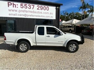 2005 Holden Rodeo RA LT (4x4) White 5 Speed Manual Space Cab Pickup.