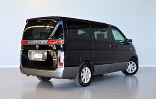 2003 Nissan Elgrand E51 Rider Black 5 Speed Automatic Wagon.
