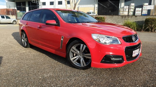 Used Holden Commodore VF SV6 Underwood, 2013 Holden Commodore VF SV6 Red 6 Speed Automatic Sportswagon