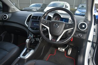 2014 Holden Barina TM MY14 RS White 6 Speed Sports Automatic Hatchback