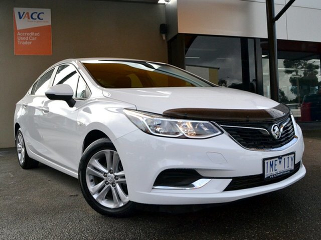 Used Holden Astra BL MY18 LS Fawkner, 2018 Holden Astra BL MY18 LS White 6 Speed Sports Automatic Sedan