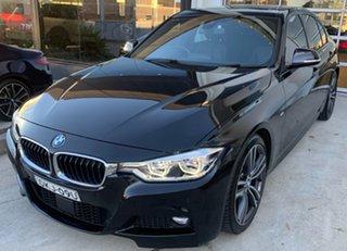 2016 BMW 3 Series F30 LCI 340i M Sport Black Sapphire 8 Speed Sports Automatic Sedan.