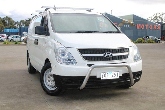 Used Hyundai iLOAD TQ West Footscray, 2011 Hyundai iLOAD TQ White 5 Speed Automatic Van
