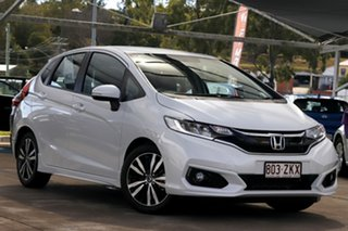 2019 Honda Jazz GF MY20 VTi-L White 1 Speed Constant Variable Hatchback.