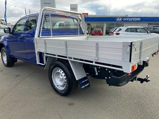 2021 Isuzu D-MAX RG MY21 SX Space Cab Cobalt Blue 6 Speed Sports Automatic Cab Chassis.