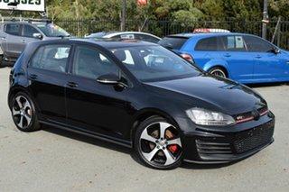 2013 Volkswagen Golf 1K MY13 GTi Black 6 Speed Direct Shift Hatchback.