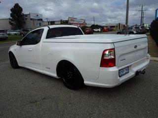 2013 Ford Falcon FG MK2 XR6 White 6 Speed Auto Seq Sportshift Utility