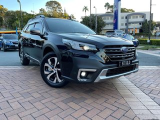 2020 Subaru Outback B7A MY21 AWD Touring CVT Crystal Black 8 Speed Constant Variable Wagon.