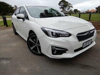 2018 Subaru Impreza G5 MY19 2.0i-S CVT AWD White 7 Speed Constant Variable Sedan.