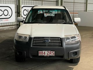 2006 Subaru Forester 79V MY06 X AWD White 4 Speed Automatic Wagon.