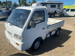 1999 Suzuki Carry White 5 Speed Manual Van.
