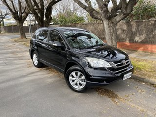 2010 Honda CR-V RE MY2010 Limited Edition 4WD Black 5 Speed Automatic Wagon.