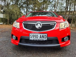 2011 Holden Cruze JH Series II MY12 SRi Red 6 Speed Sports Automatic Sedan