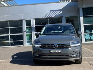 2021 Volkswagen Tiguan 5N MY21 132TSI Life DSG 4MOTION Grey 7 Speed Sports Automatic Dual Clutch.