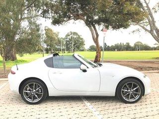 2017 Mazda MX-5 ND GT RF SKYACTIV-MT White 6 Speed Manual Targa.