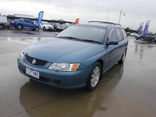 2003 Holden Commodore VY II 25th Anniversary Blue 4 Speed Automatic Wagon
