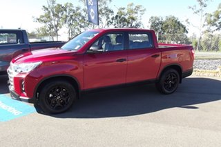 2021 Ssangyong Musso MY21 Ultimate Crew Cab Red 6 Speed Automatic Utility