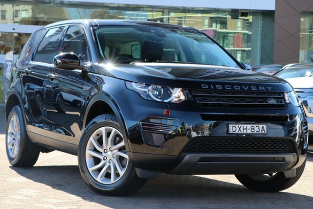 Used Land Rover Discovery Series 5 L462 MY18 S Rosebery, 2017 Land Rover Discovery Series 5 L462 MY18 S Black 8 Speed Sports Automatic Wagon