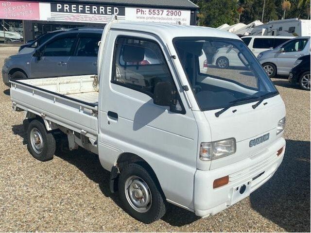 Used Suzuki Carry Arundel, 1999 Suzuki Carry White 5 Speed Manual Van