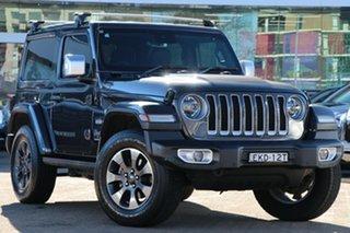 2020 Jeep Wrangler JL MY19 Overland (4x4) Grey Automatic Hardtop.