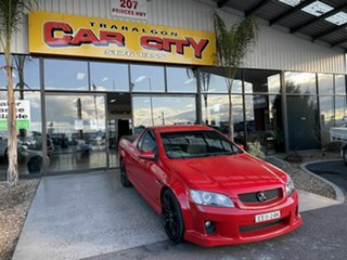 2010 Holden Commodore VE II SS Red 6 Speed Manual Utility.