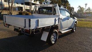2013 Mitsubishi Triton MN MY12 GLX (4x4) White 4 Speed Automatic 4x4 Double Cab Utility.